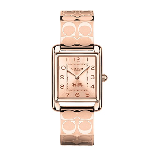 COACH Women's Page Bangle Watch Rosegold/Rosegold Plated One Size