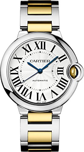 Cartier Ballon Bleu Unisex Steel and Gold Watch W6920047