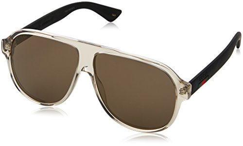 Sunglasses Gucci BROWN / BRONZE / BLACK