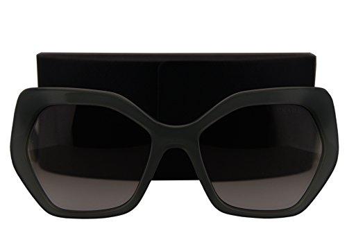 Prada Sunglasses Opal Dark Green w/Grey Gradient Lens