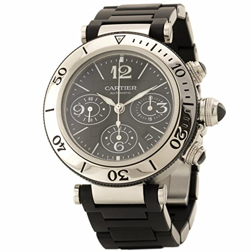 Cartier Pasha swiss-automatic mens Watch (Certified Pre-owned)