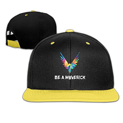 Kddcasdrin Be A Maverick Children Youth Adjustable Baseball Cap Hip-Hop Cap