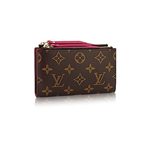 Authentic Louis Vuitton Monogram Canvas Adele Compact Wallet Article
