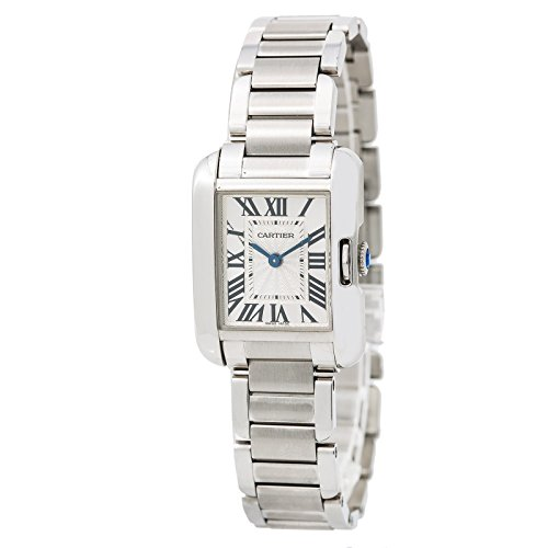 Cartier Tank Anglaise Quartz Womens Watch (Certified Pre-Owned)