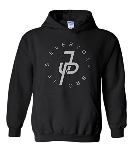 CC Jake Paul Its Everyday Bro Hoodie (Silver Ink)