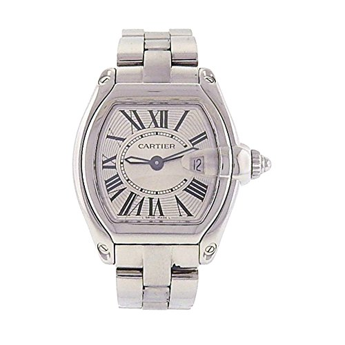 Cartier Roadster Automatic-self-Wind Male Watch (Certified Pre-Owned)