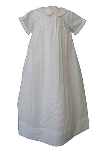 Feltman Brothers Boys White Christening Gown (NB-3 months)