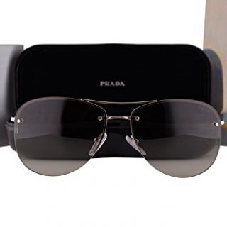 Prada Sunglasses Pale Gold w/Grey Gradient Lens