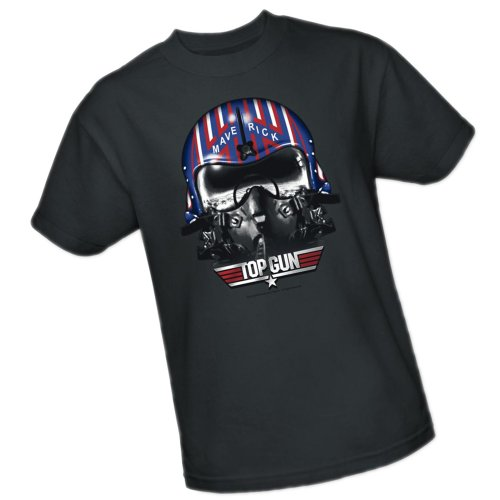 Maverick Helmet -- Top Gun Youth T-Shirt, Youth Small