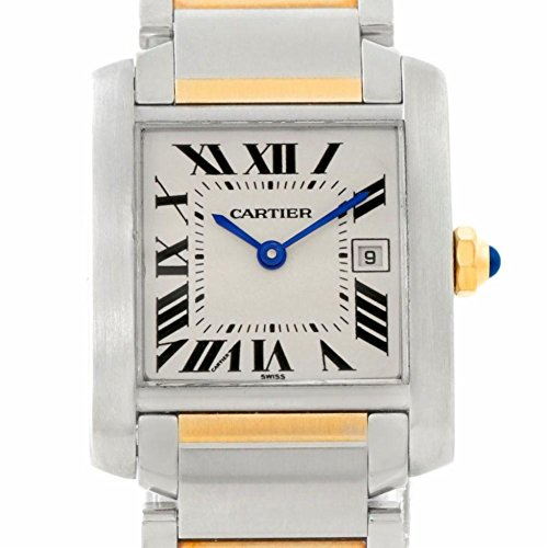 Cartier Tank Francaise quartz female Watch (Certified Pre-owned)