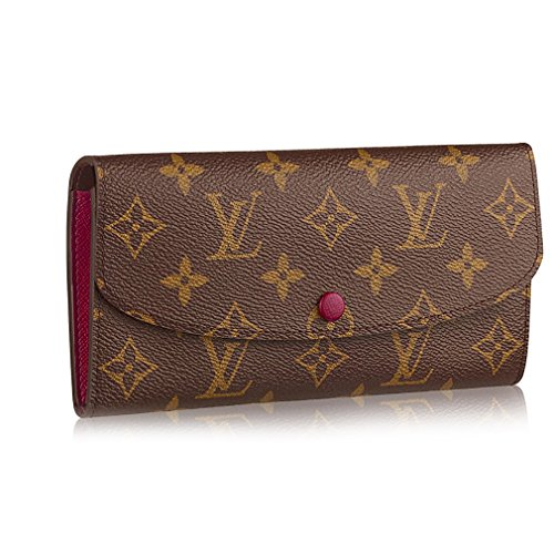 Louis Vuitton Monogram Canvas Monogram Canvas Emilie Wallet Article: Fuchsia