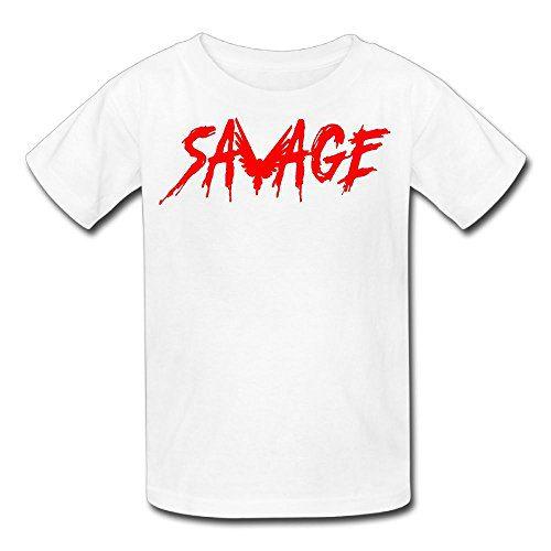 Eric A. Collins Youth Kids T-Shirt Short Sleeve Logan Paul Same Popular Logo White L