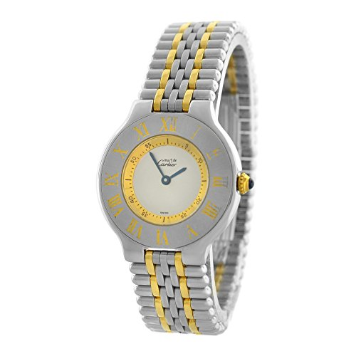 Cartier Must 21 Collection analog-quartz womens Watch (Certified Pre-owned)