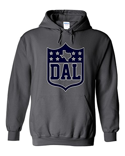 America's Finest Apparel Dallas Texas Shield Hoodie (XL)