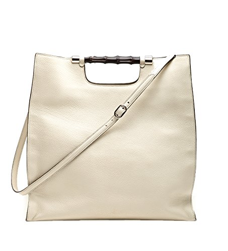 Gucci Bamboo Daily Leather Tote Handbag