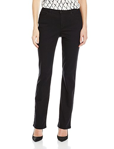 Bandolino Women's Mandie 5 Pocket Jean, Saturated Black, 12
