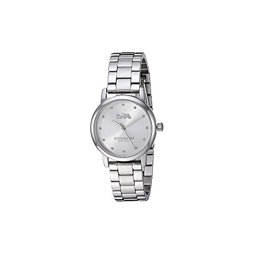 COACH Women's Grand - Silver White One Size