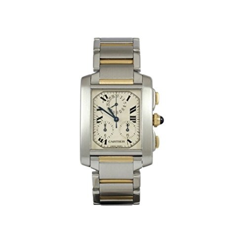 Cartier Tank Francaise swiss-quartz female Watch (Certified Pre-owned)