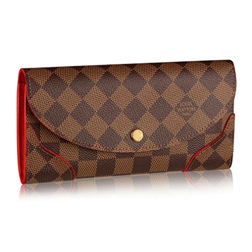 Louis Vuitton Damier Canvas Caissa Wallet, Cherry