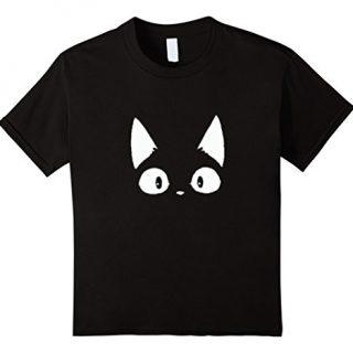 Kids Peek-a-boo Cat 6 Black