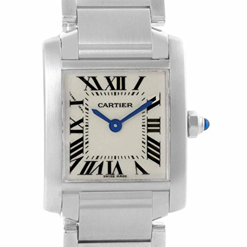 Cartier Tank Francaise quartz female Watch W51008Q3 (Certified Pre-owned)