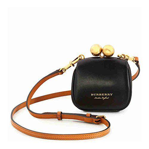 Burberry Two Tone Mini Frame Bag - Black/Brown