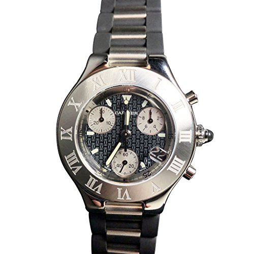 Cartier Must 21 Analog-Quartz Male Watch (Certified Pre-Owned)