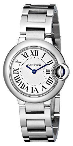 Cartier Women's Ballon Bleu Stainless Steel Dress Watch