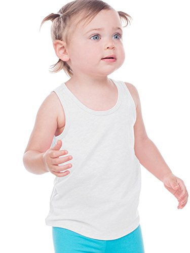 Kavio! Infants Sheer Jersey Tank White 18M