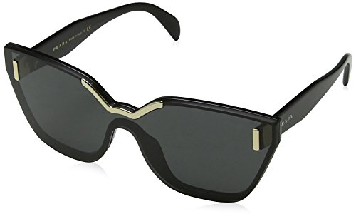 Prada Women's Catwalk Sunglasses, Black/Grey, One Size