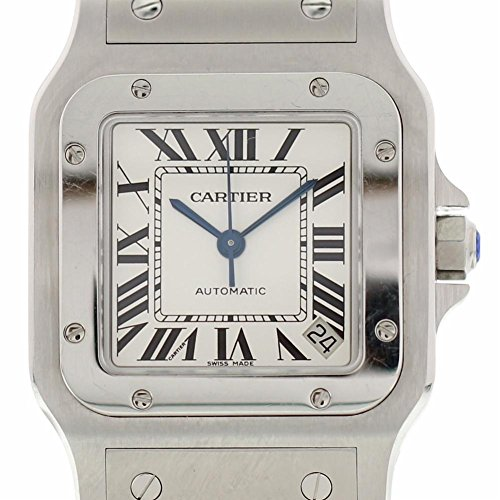 Cartier Santos Galbee Automatic-self-Wind Male Watch (Certified Pre-Owned)