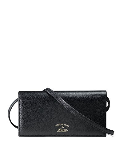 Gucci Swing Leather Wallet with Strap