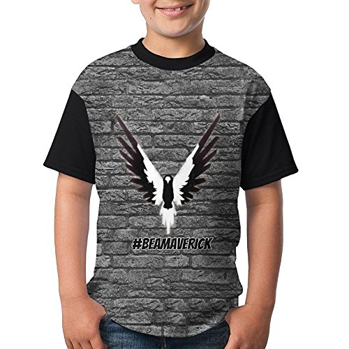 FOTNNRFK Black and White Logan-Paul-Maverick Fashion 3D Youth T T-Shirt.We Have More Beautiful Products In Our Store!