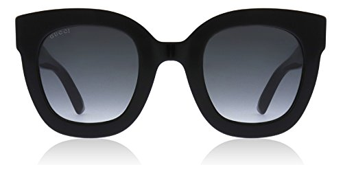 Gucci Black Butterfly Sunglasses Lens Category 3 Size 49mm