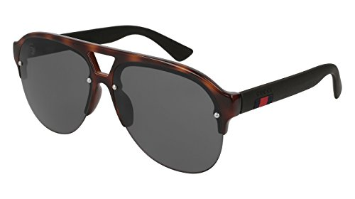 Gucci HAVANA / GREY BLACK Sunglasses