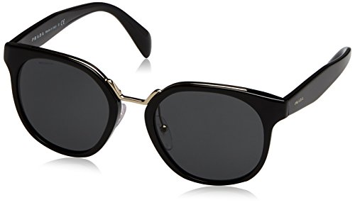 Prada Women's Black/Grey Sunglasses
