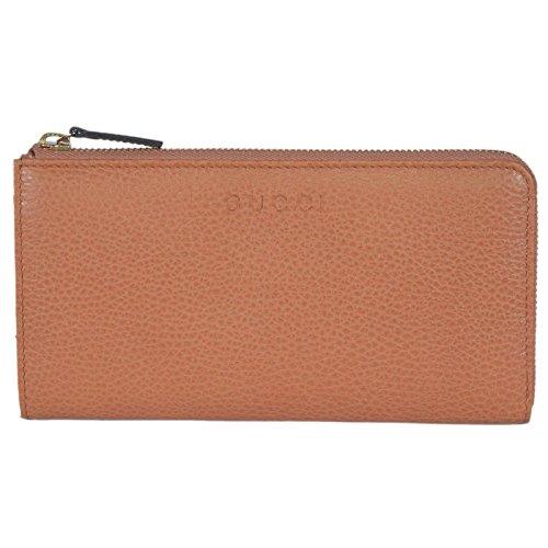 Gucci Women's Leather Zip Wallet (Saffron)