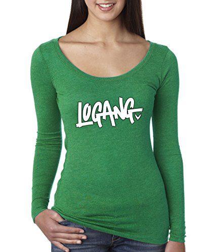 New Way - Women's Long Sleeve T-Shirt Logang Logan Paul Maverick Small Envy