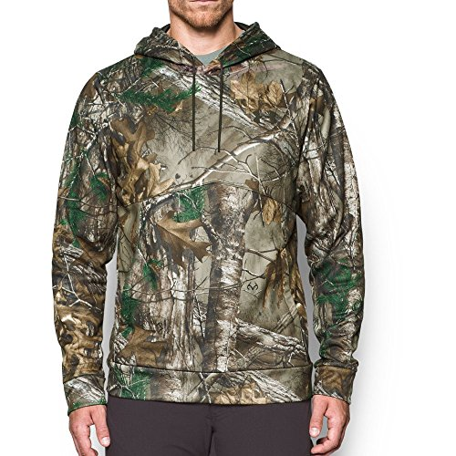 Under Armour Men's Storm Camo Hoodie,Realtree Ap-Xtra/Maverick Brown, Small