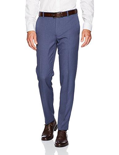 Van Heusen Men's Traveler Slim Fit Pant, Ash Navy, 30W X 32L