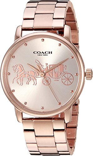 COACH Women's Grand Rose Gold One Size