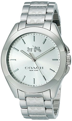 Coach Women's Tristen Signature Silver Tone Stainless Watch