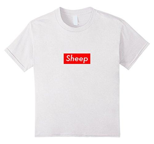 Kids Sheep Box Logo Hype T-Shirt 12 White