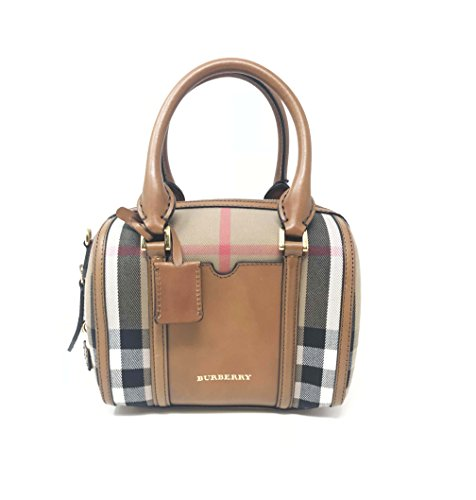 Burberry Small House Check Sartorial Bowling Bag