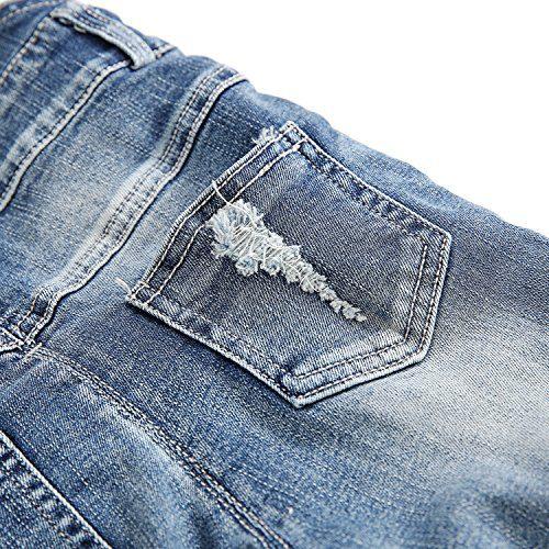 Kidscool Baby /& Little Boys//girls Ripped Holes Bib Jeans Overall