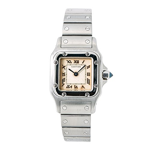 Cartier Santos Galbee Quartz Female Watch (Certified Pre-Owned)