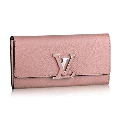Louis Vuitton Taurillon Leather Capucines Wallets Magnolia