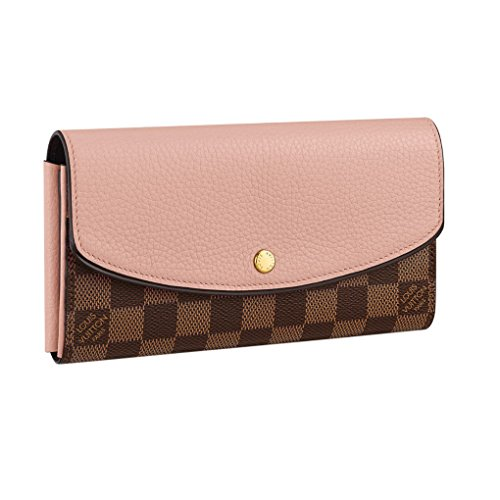 Louis Vuitton Damier Portafoglio Normandy Wallet Magnolia Article: N61262 Made in France