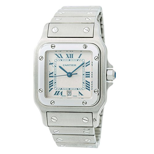 Cartier Santos Galbee Quartz Male Watch (Certified Pre-Owned)
