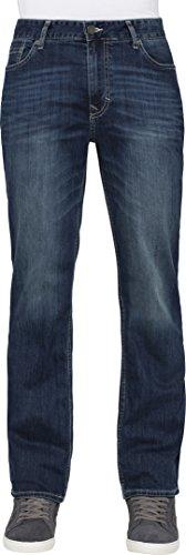 Calvin Klein Jeans Men's Straight Jean In Authentic Blue, Authentic Blue, 30x30